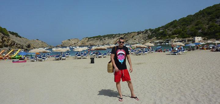 Cala Vadella en Ibiza