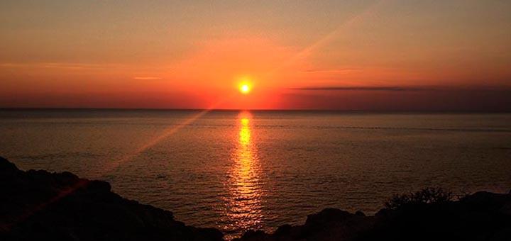 Puesta de Sol en Ibiza (Cala Vadella)