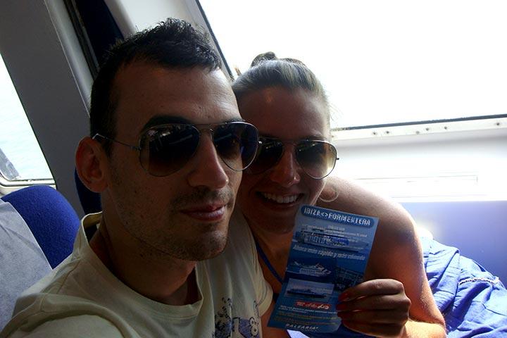 Ferry de Ibiza a Formentera