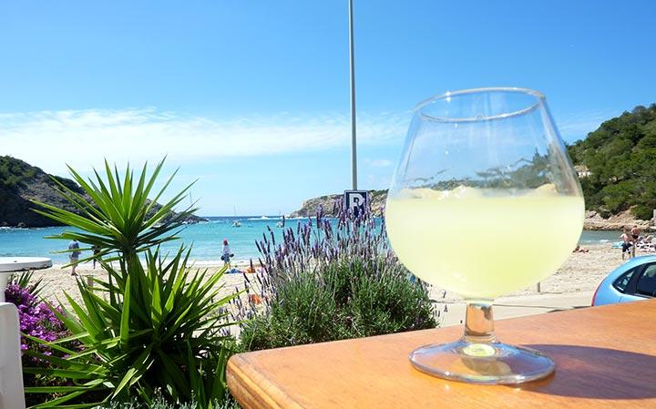 Limoncello en Pizzeria Bon Sol - Ibiza