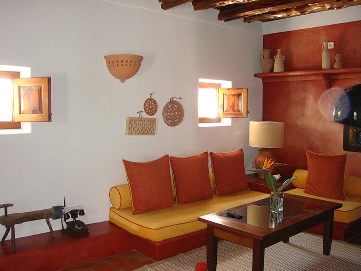 Habitación en Hotel Can Curreu, Ibiza