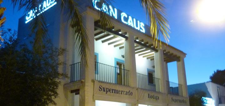 Restaurante Can Caus en Ibiza