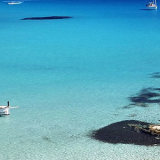 Mar en la isla de Ibiza