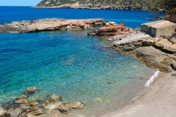 Cala Ses Illot des Rencli en Ibiza