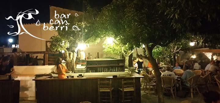 Bar terraza con barbacoa en Ibiza - Can Berri