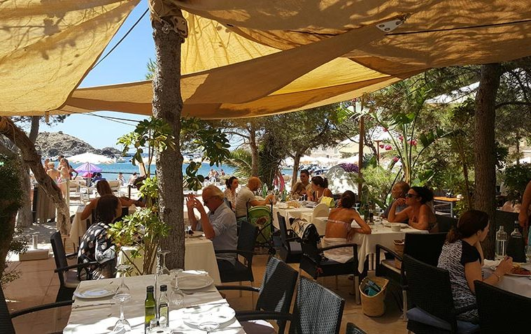 Restaurante Can Jaume en Ibiza (Cala Vadella)