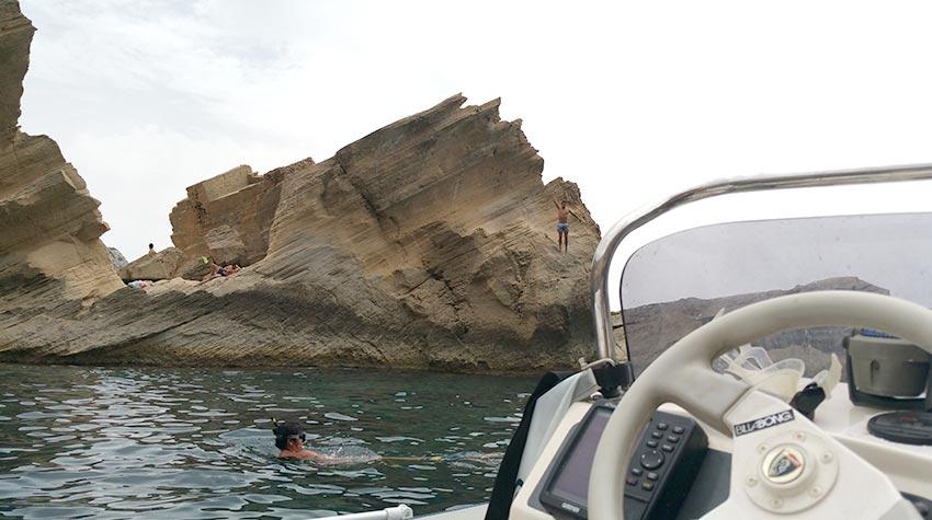 Cala ATLANTIS en Ibiza - Como llegar a Sa Pedrera