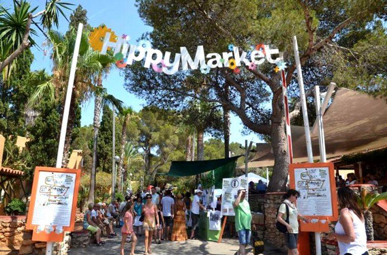 Hippy Market Ibiza: entrada principal - Cada miércoles