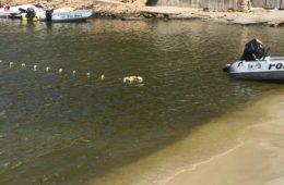 Agua verde y sucia en Cala Vadella - Problema